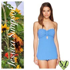 Jessica Simpson Keyhole Swimsuit